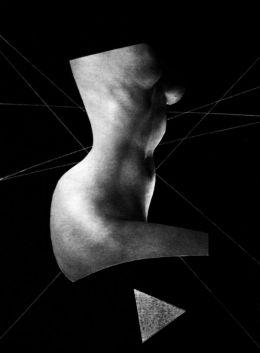 Woman nude by Zdzislaw Beksinski