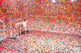 Yayoi Kusama (b.1929). Obliteration Room. 2012. Installation for the Queensland Gallery of Modern Art