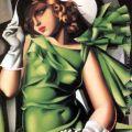 Young Lady with Gloves, 1930 - Tamara de Lempicka - www.tamara-de-lempicka.org